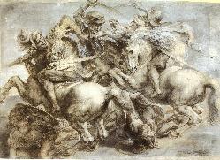 Леонардо да Винчи. Битва при Ангьяри