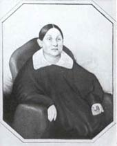 Марья Борисовна Даргомыжская, мать композитора. Акварель неизвестного художника