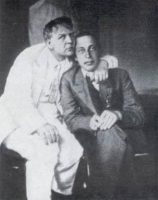 Ф.И. Шаляпин и С.В. Рахманинов, 1916 г.